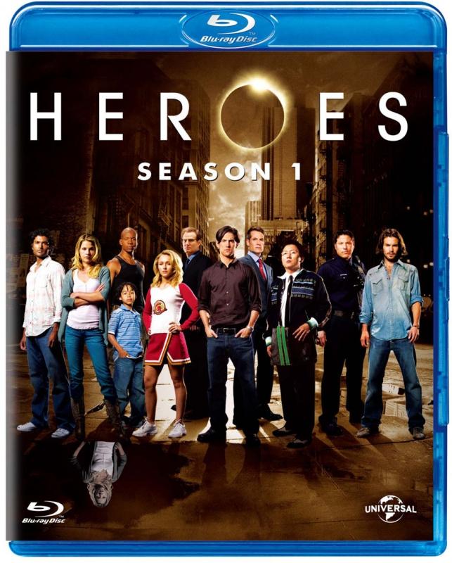 HEROES/ヒーローズ シーズン1 ブルーレイ バリューパック