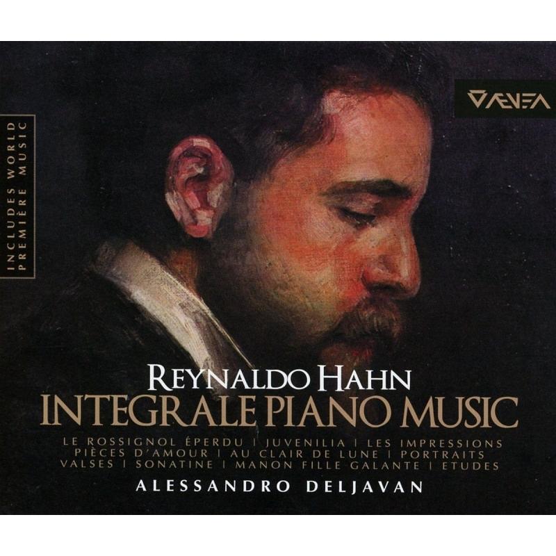 ピアノ独奏曲全集 アレッサンドロ・デルジャヴァン(4CD)