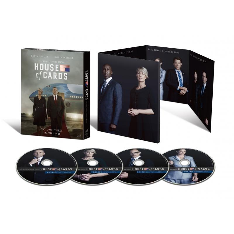 ハウス・オブ・カード 野望の階段 SEASON 3 Blu-ray Complete Package
