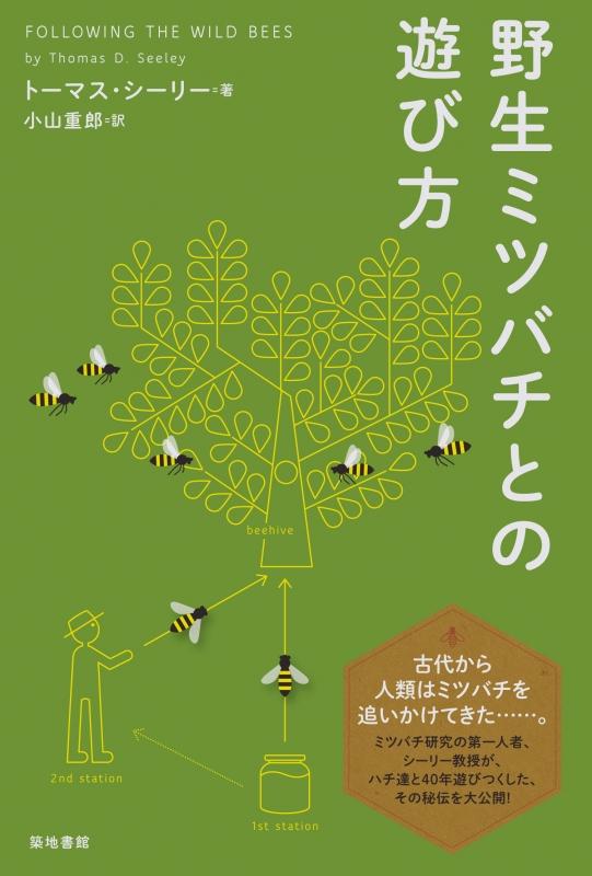野生ミツバチとの遊び方