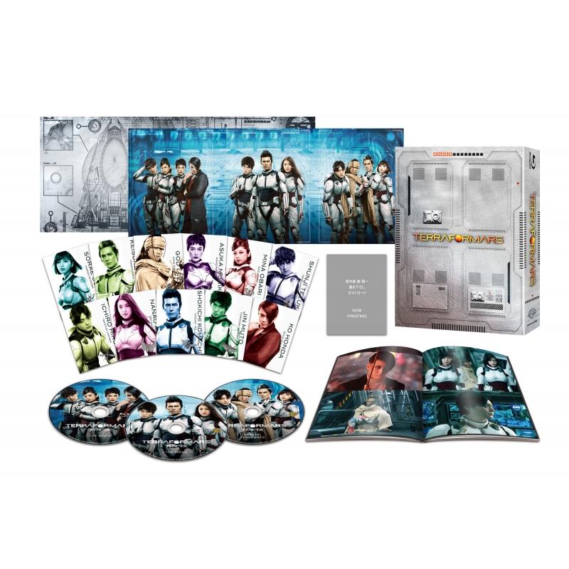 【初回仕様】 テラフォーマーズ ブルーレイ&DVDセット プレミアム・エディション(3枚組)