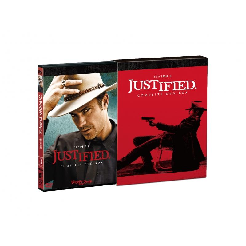 JUSTIFIED 俺の正義シーズン3 コンプリートDVD-BOX