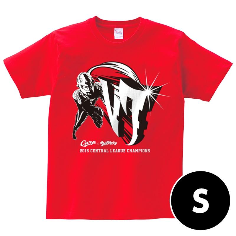コラボTシャツ【S】 / 広島カープ×ウルトラセブン