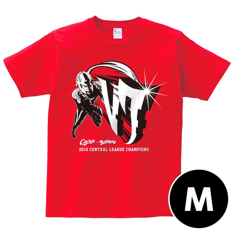 コラボTシャツ【M】 / 広島カープ×ウルトラセブン
