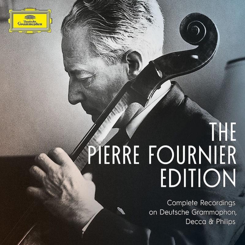 Pierre Fournier : Complete Recordings on DG, Decca & Philips (25CD)