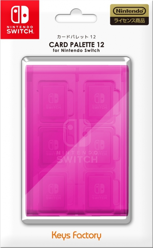 Card Palette 12 for Nintendo Switch ピンク