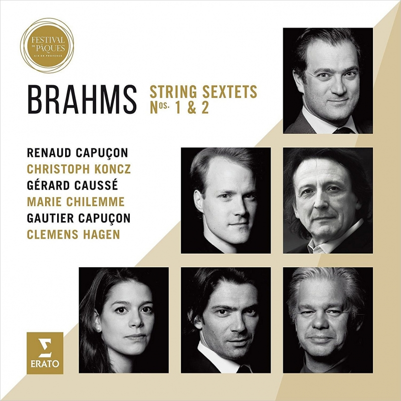 弦楽六重奏曲第1番、第2番 ルノー・カプソン、ゴーティエ・カプソン、ジェラール・コセ、クレメンス・ハーゲン、他