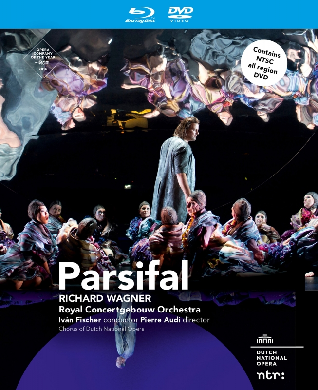 『パルジファル』全曲 オーディ演出、イヴァン・フィッシャー&コンセルトヘボウ管弦楽団、ヴェントリス、シュトルックマン、他(2012 ステレオ)(+DVD)
