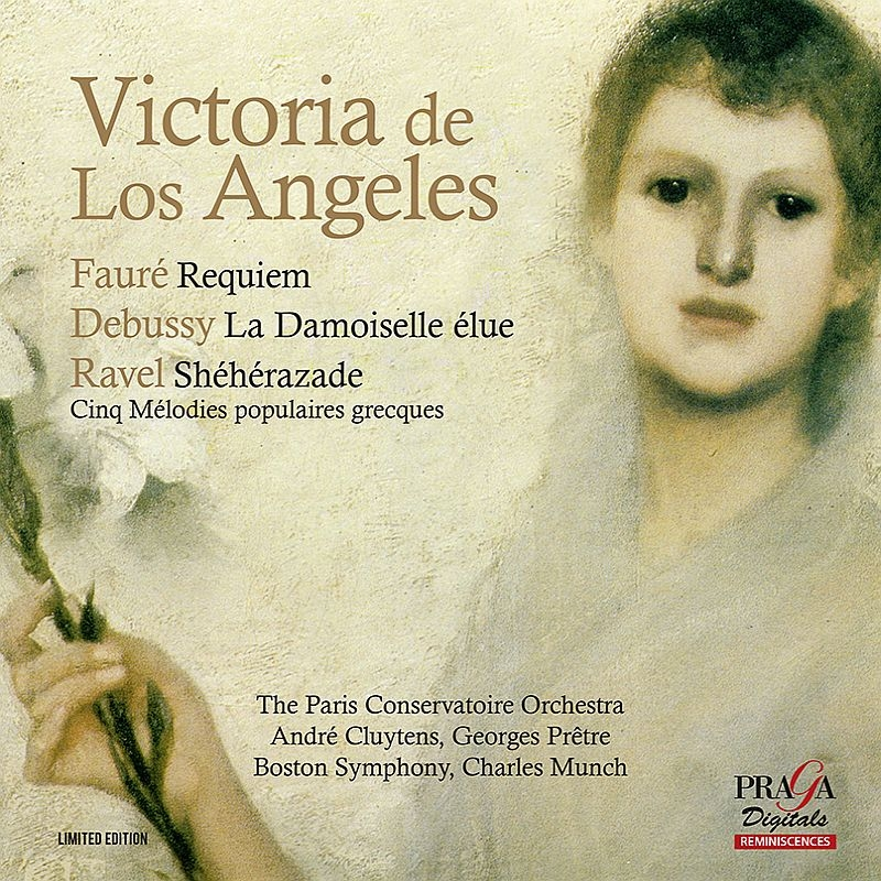 Faure Requiem : De Los Angeles(S)F-Dieskau(Br)Cluytens / Paris Conservatory Orchestra +Debusasy, Ravel (Hybrid)