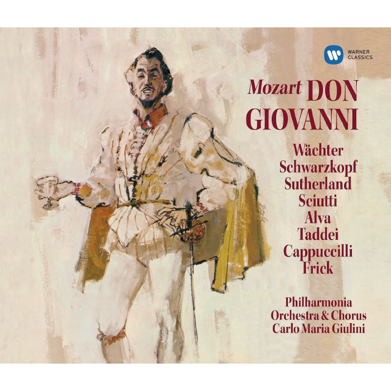 『ドン・ジョヴァンニ』全曲 カルロ・マリア・ジュリーニ&フィルハーモニア、エーベルハルト・ヴェヒター、他(1959 ステレオ)(3SACD)(シングルレイヤー)