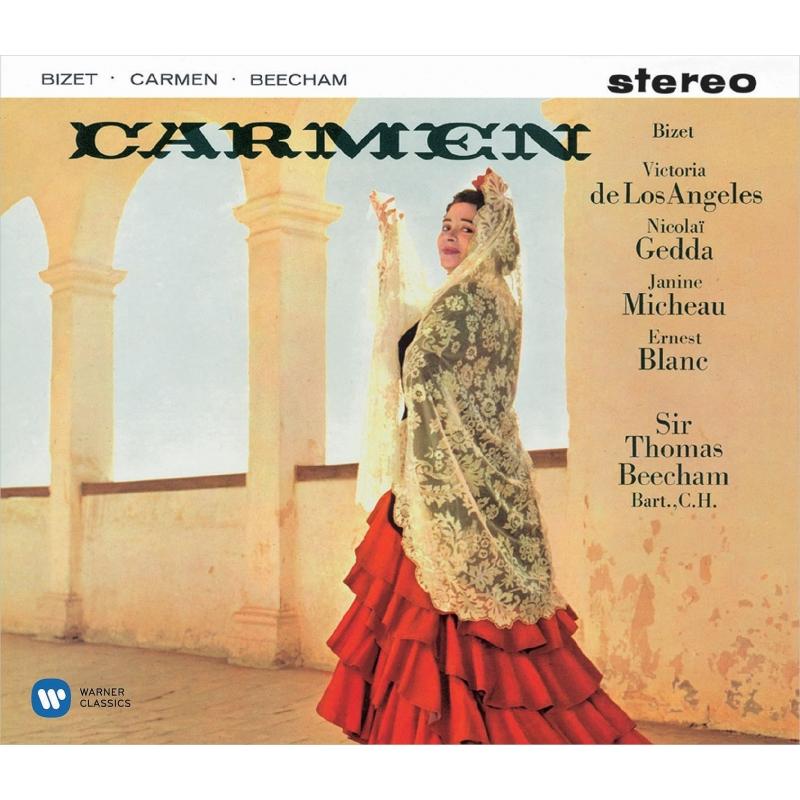 『カルメン』全曲 トマス・ビーチャム&フランス国立放送管弦楽団、デ・ロス・アンヘレス、ゲッダ、他(1958-59 ステレオ)(3SACD)(シングルレイヤー)