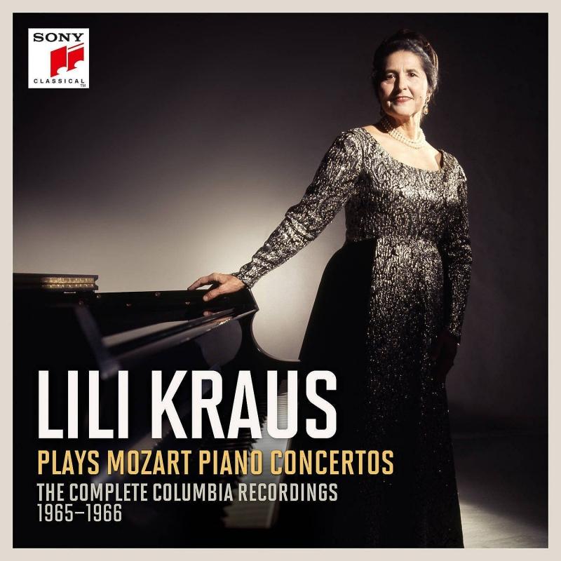 ピアノ協奏曲全集 リリー・クラウス、スティーヴン・サイモン&ウィーン音楽祭管弦楽団(12CD)