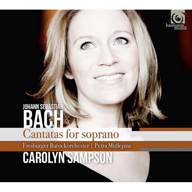 キャロリン・サンプソン/バッハ:ソプラノのためのカンタータ集