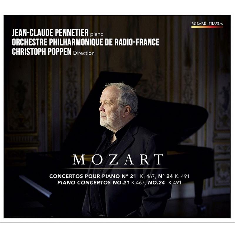 ジャン=クロード・ペヌティエ/モーツァルト:ピアノ協奏曲第21番、第24番
