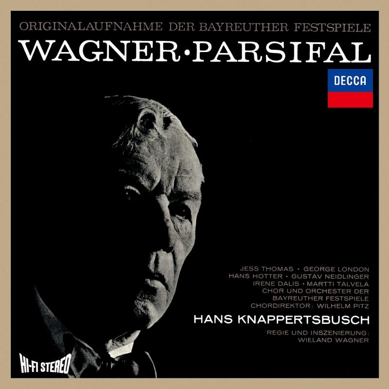 『パルジファル』全曲 ハンス・クナッパーツブッシュ&バイロイト、ジェス・トーマス、ハンス・ホッター、他(1962 ステレオ)(3SACD)(シングルレイヤー)