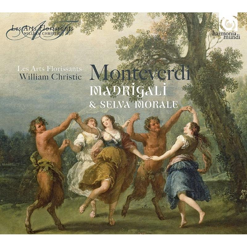 マドリガーレ集、『倫理的、宗教的な森』 ウィリアム・クリスティ&レザール・フロリサン(4CD)