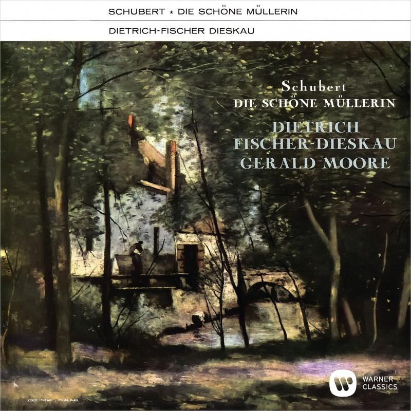 Die Schone Mullerin : Dietrich Fischer-Dieskau(Br)Gerald Moore(P)(1961)(UHQCD)
