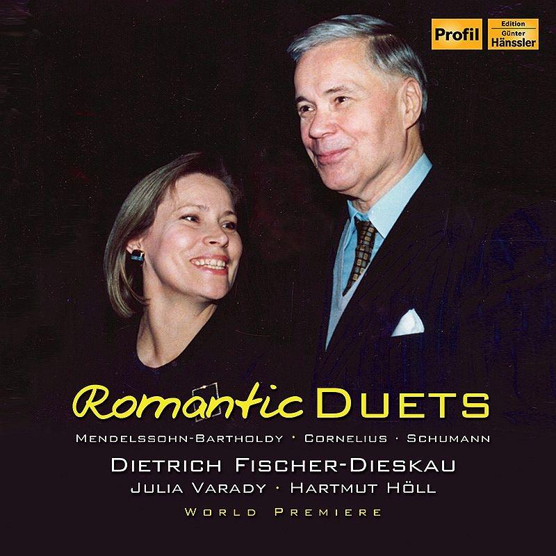 Romantic Duets : Dietrich Fischer-Dieskau(Br)Julia Varady(S)Hartmut Holl(P)(1989)