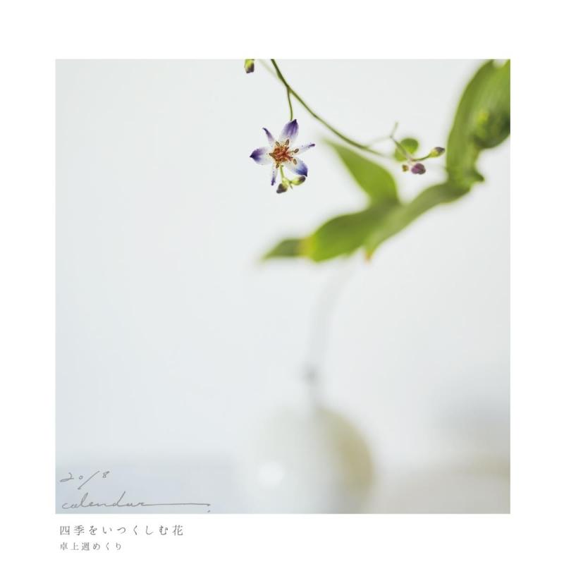 2018卓上カレンダー 四季をいつくしむ花에 대한 이미지 검색결과