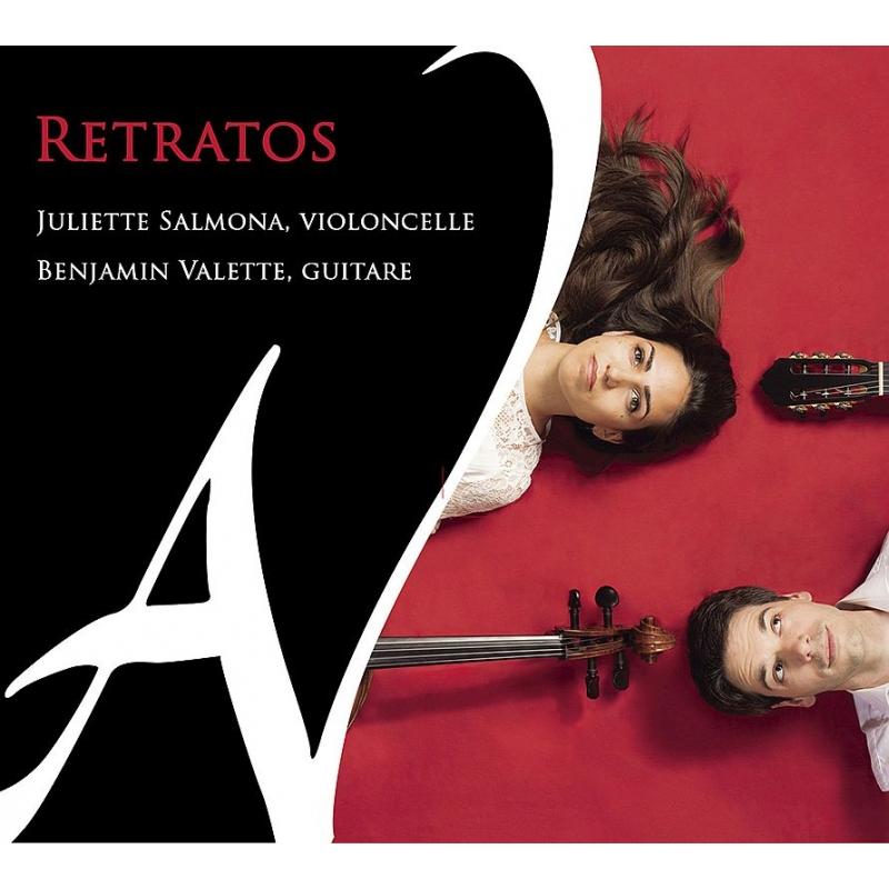 チェロとギターによる作品集〜ヴィラ=ロボス、ナザレス、ネポムチェーノ、他 ジュリエット・サルモナ、ベンヤミン・ヴァレット