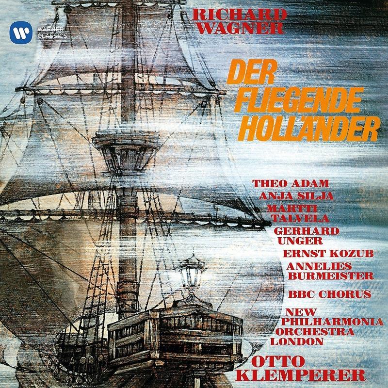 『さまよえるオランダ人』全曲 オットー・クレンペラー&ニュー・フィルハーモニア管、アダム、シリヤ、他(1968 ステレオ)(2CD)
