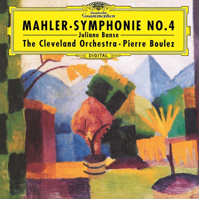 交響曲第4番 ピエール・ブーレーズ&クリーヴランド管弦楽団、ユリアーネ・バンゼ