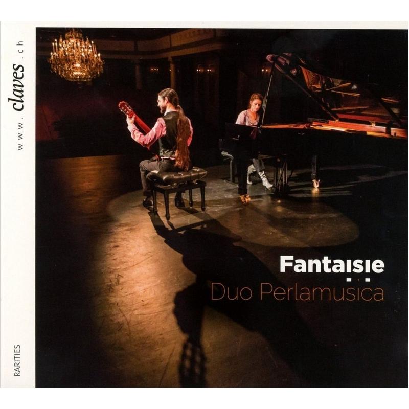 『幻想〜ギターとピアノによる作品集』 デュオ・ペルラムジカ
