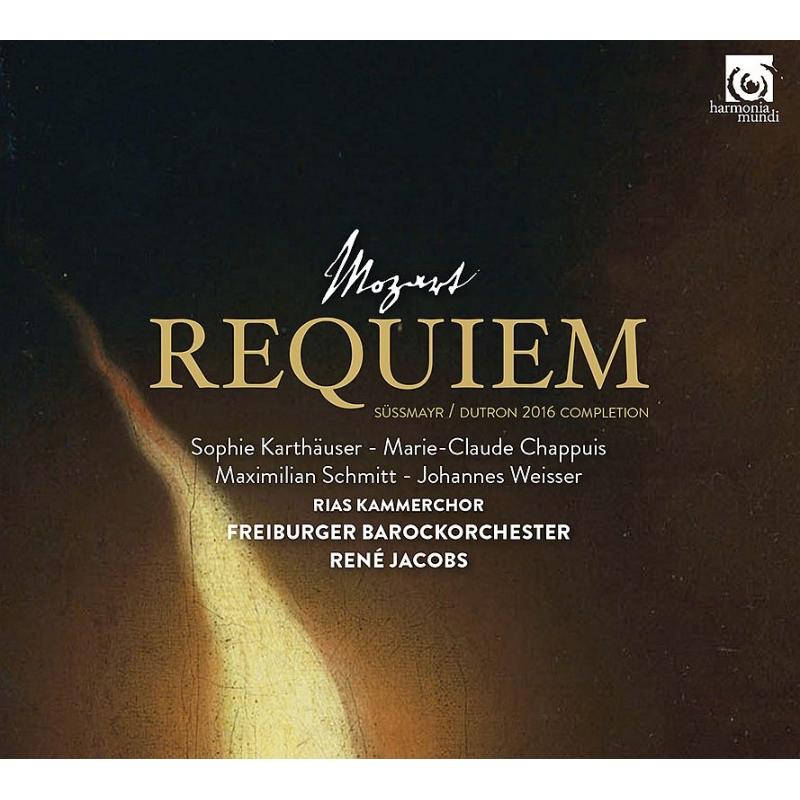レクィエム(デュトロン補完版) ルネ・ヤーコプス&フライブルク・バロック・オーケストラ、RIAS室内合唱団