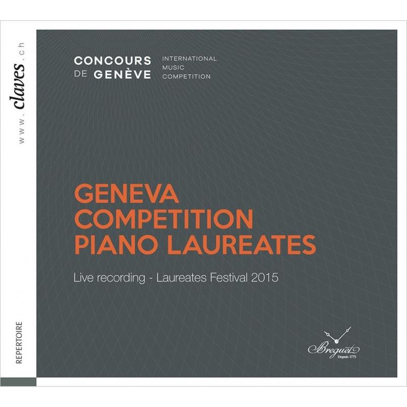 ジュネーヴ国際音楽コンクール入賞者によるフェスティバル 2015(3CD)