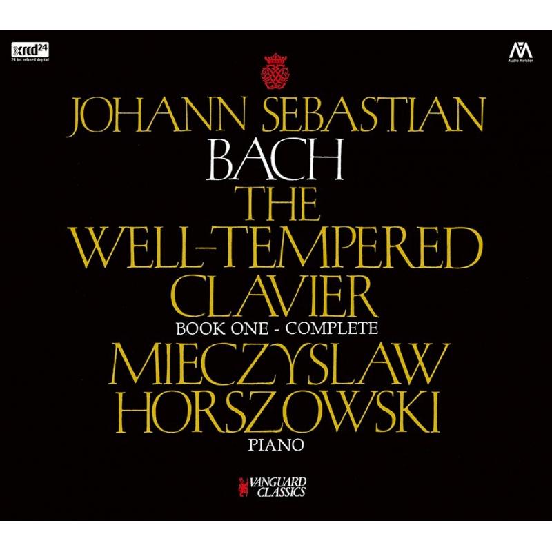 平均律クラヴィーア曲集第1巻 ミエチスラフ・ホルショフスキ(ピアノ)(2CD)