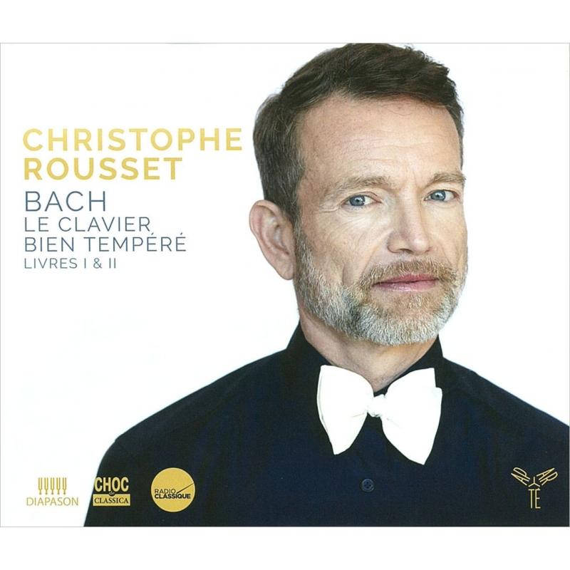平均律クラヴィーア曲集全曲 クリストフ・ルセ(チェンバロ)(4CD)