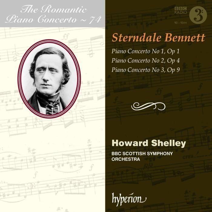 ピアノ協奏曲第1番、第2番、第3番 ハワード・シェリー、BBCスコティッシュ交響楽団