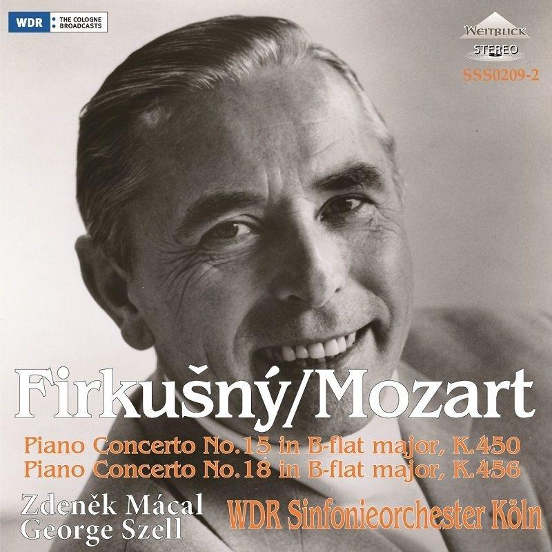 ピアノ協奏曲第18番、第15番 ルドルフ・フィルクシュニー、ジョージ・セル、ズデニェク・マーツァル、ケルン放送交響楽団(1966、1973 ステレオ)
