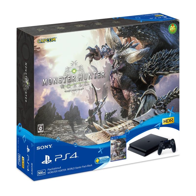 PlayStation4 MONSTER HUNTER: WORLD Starter Pack Black