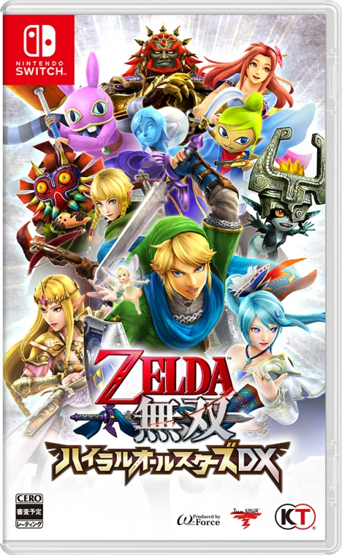 【Nintendo Switch】ゼルダ無双 ハイラルオールスターズ DX
