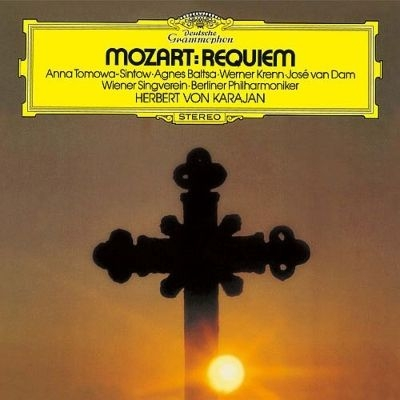 Requiem : Herbert von Karajan / Berlin Philharmonic, Tomowa-Sintow, Baltsa, Krenn, van Dam (1975)(Single Layer)