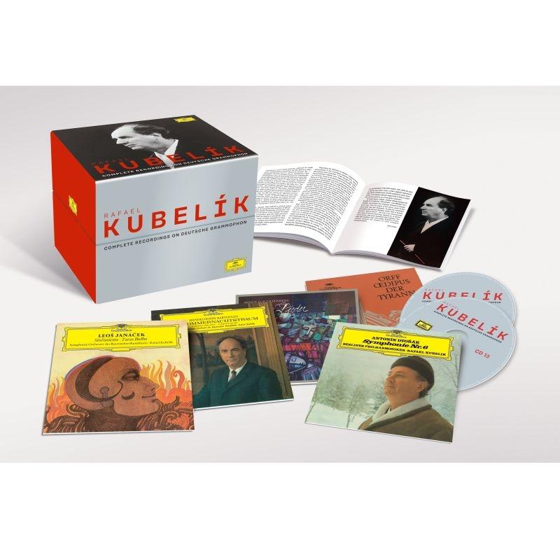 Rafael Kubelik : Complete Recordings On Deutsche Grammophon (64CD)(+2DVD)