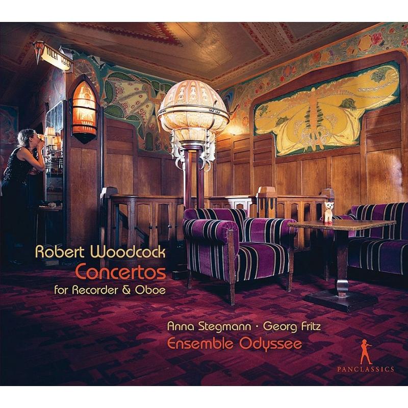 12の協奏曲集より アンナ・ステグマン(リコーダー)、ゲオルク・フリッツ(オーボエ)、アンサンブル・オデッセイ