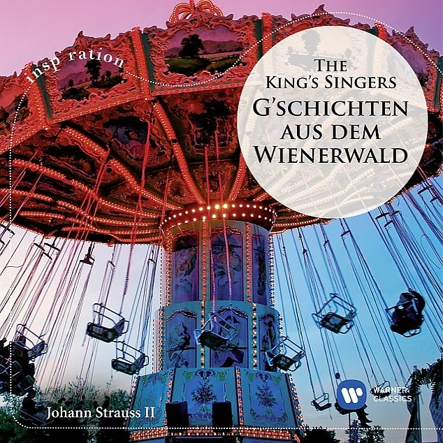 『ウィーンの森のピクニック〜ウィーンの森の物語、美しく青きドナウ、他』 キングズ・シンガーズ