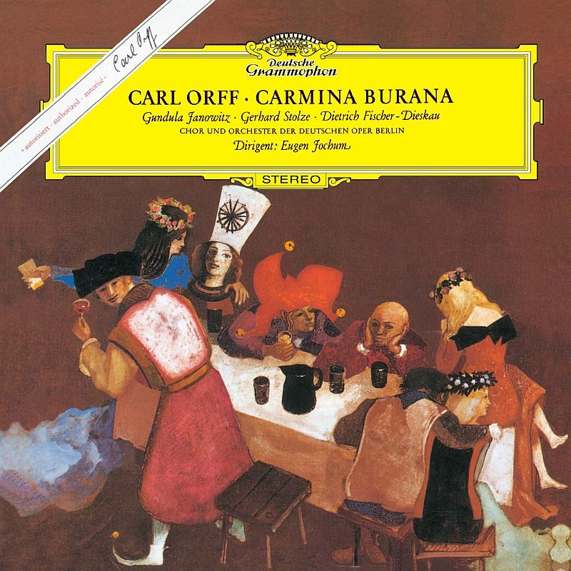Carmina Burana: Jochum / Deutschen Oper.o & Cho Janowitz Stolze F-dieskau (Mqa / Uhqcd)