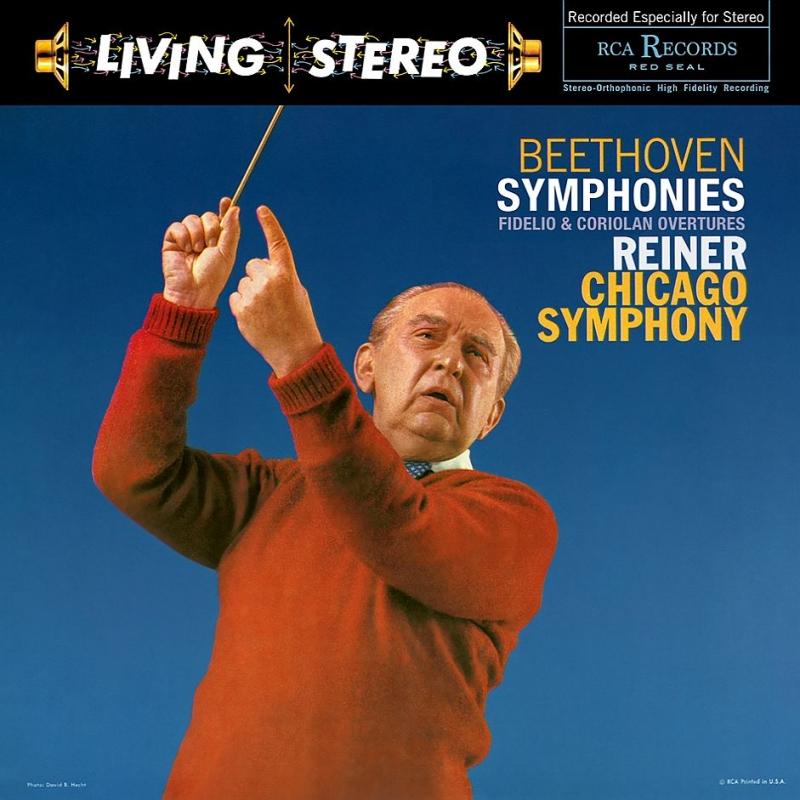 交響曲第1番、第5番『運命』、第6番『田園』、第7番、第9番『合唱』 フリッツ・ライナー&シカゴ交響楽団(3SACD)