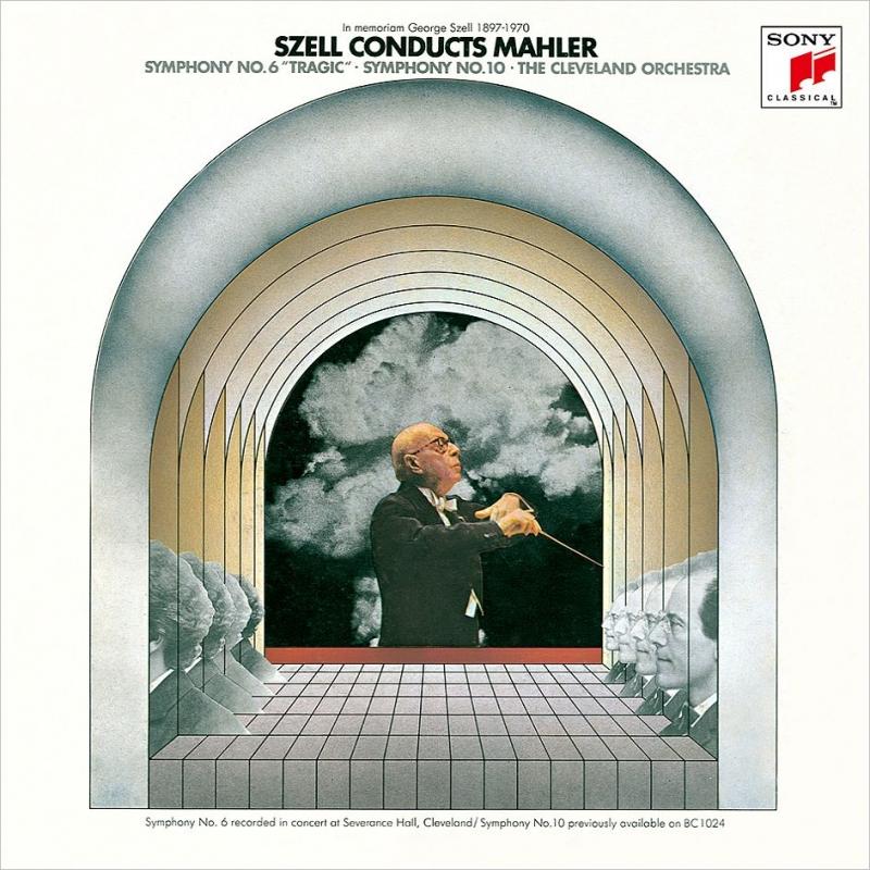 マーラー:交響曲第6番『悲劇的』、第4番、第10番〜第1楽章、第3楽章、R.シュトラウス:家庭交響曲 ジョージ・セル&クリーヴランド管弦楽団(3SACD)