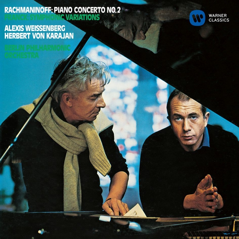 ラフマニノフ:ピアノ協奏曲第2番、チャイコフスキー:ピアノ協奏曲第1番 アレクシス・ワイセンベルク、カラヤン&ベルリン・フィル、パリ管(シングルレイヤー)
