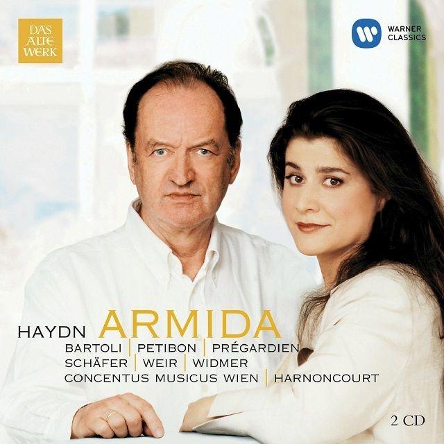 『アルミーダ』全曲 ニコラウス・アーノンクール&ウィーン・コンツェントゥス・ムジクス、チェチーリア・バルトリ、他(2000 ステレオ)(2CD)