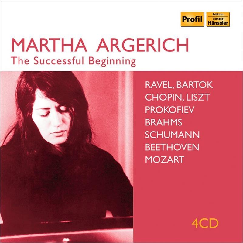 マルタ・アルゲリッチ 成功のデビュー〜放送用録音、ライヴ録音集 1955-1961(4CD)