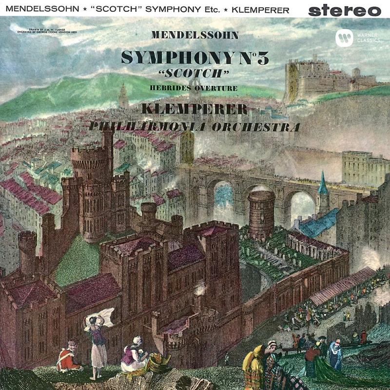 交響曲第3番『スコットランド』、フィンガルの洞窟、『真夏の夜の夢』より オットー・クレンペラー&フィルハーモニア管弦楽団(SACDシングルレイヤー)