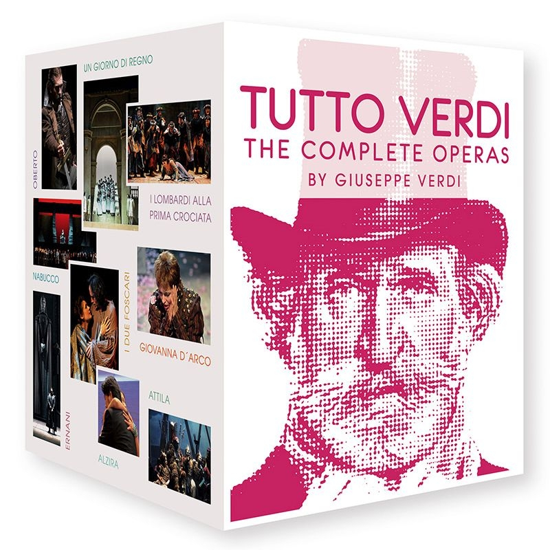 『トゥット・ヴェルディ〜26のオペラ全曲とレクィエム+ドキュメンタリー』(27BD)