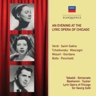 ショルティ指揮、テバルディ、他/『シカゴ・リリック・オペラの夕べ』