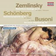 リノス・アンサンブル/シェーンベルク:室内交響曲第1番、他