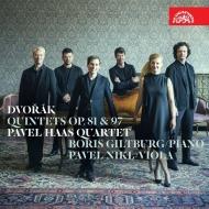 パヴェル・ハース四重奏団/ドヴォルザーク:ピアノ五重奏曲、他